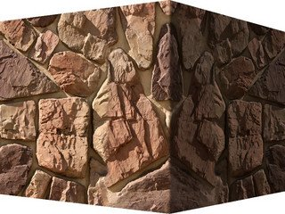 "613-45 White Hills ""Рока"" (Roca), коричнево-серый, угловой, Нормативная ширина шва 1,5 см."