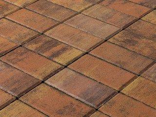 Тротуарная плитка BRAER Прямоугольник Color Mix Прайд, 60 мм