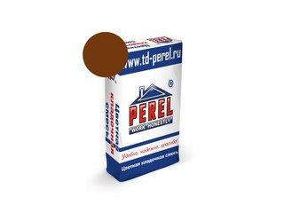 Цветная кладочная смесь Perel NL 5151 коричневая, 51 кг