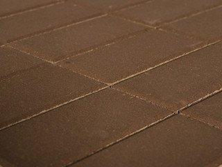 Тротуарная плитка Braer прямоугольник коричневый 200х100х40