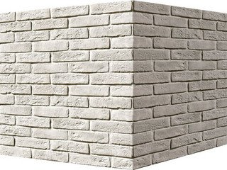 "319-95 White Hills ""Брюгге брик"" (Brugge brick), коричневый, угловой, Нормативная ширина шва 1,2 см."