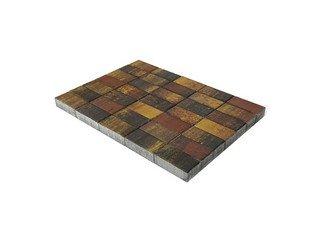 Тротуарная плитка Braer прямоугольник Color Mix Мальва 200х100х40