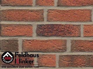 Фасадная плитка Feldhaus Klinker R687NF14 sintra terracotta linguro