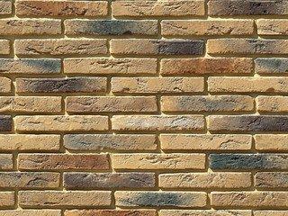 """380-40 White Hills """"Остия Брик"""" (Ostia Brick), коричневый, плоскостной, Нормативная ширина шва 1,2 с"""
