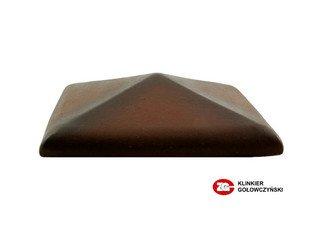 Колпак для забора ZG Clinker клинкерный керамический 570х570 ольха