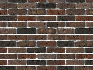 "304-60 White Hills ""Лондон брик"" (London brick), коричневый, плоскостной, Нормативная ширина шва 1,2"