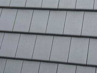Керамическая черепица Roben рядовая Grau-matt (Серый матовый) с.о.