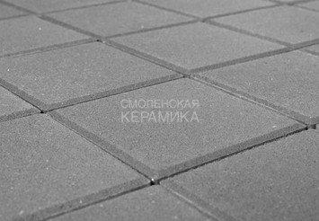 Тротуарная плитка BRAER Лувр, Серый (400х400х60) 1