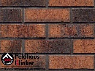 Плитка под кирпич Feldhaus Klinker R767NF14 vascu terracotta locata