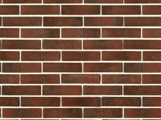 "351-40 White Hills ""Терамо брик"" (Teramo brick), темно-коричневый, плоскостной, Нормативная ширина ш"