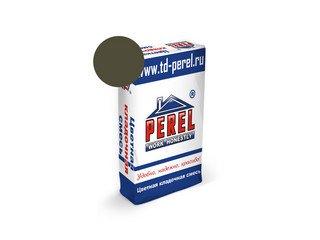 Цветная кладочная смесь Perel NL 0115 темно-серая, 50 кг