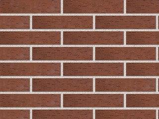 Клинкер фасадный ЛСР «Эдинбург» темно-красный береста