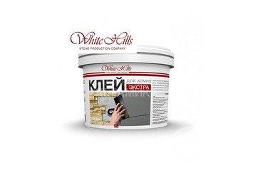 Клей для камня White-Hills «Экстра», серый 7 кг 1
